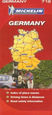 Michelin Germany Map 9782067123021