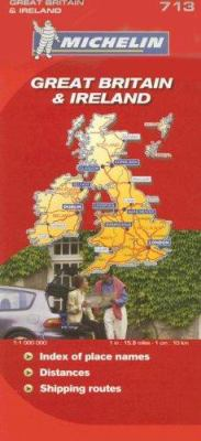 Michelin Great Britain & Ireland Map