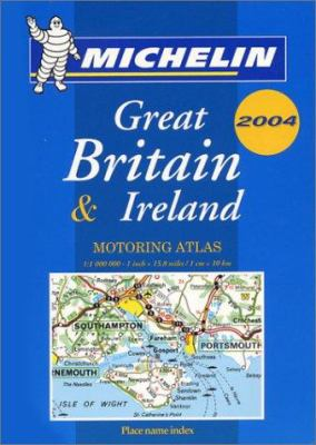 Michelin Great Britain & Ireland Mini-Spiral Atlas No. 96 9782067105256