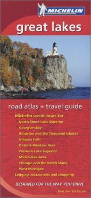 Michelin Great Lakes Regional Atlas & Travel Guide 9782067107274