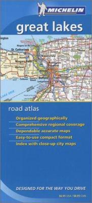 Michelin Great Lakes Road Atlas 9782067107199