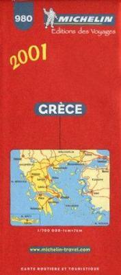 Michelin Greece #980 9782060001791