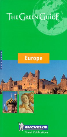 Michelin Green Guide Europe 9782060000268