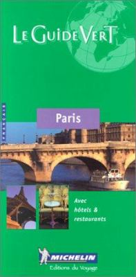 Michelin Green Paris 9782060352053