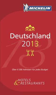 Michelin Guide Deutschland 2013 9782067178922