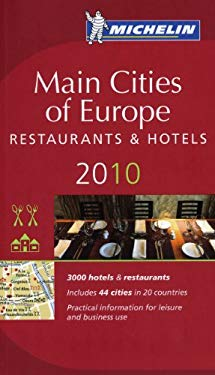 Main Cities of Europe: Restaurants & Hotels 9782067146822