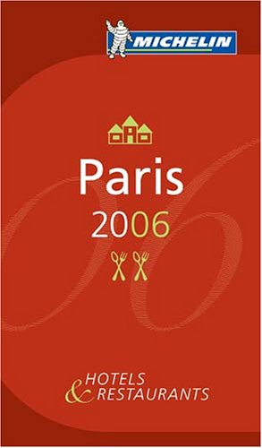 Michelin Guide Paris 9782067115705