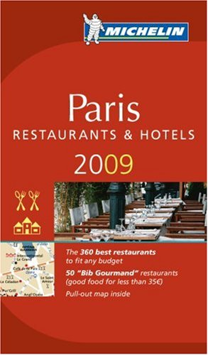 Michelin Guide Paris [With Pull-Out Map] 9782067138407