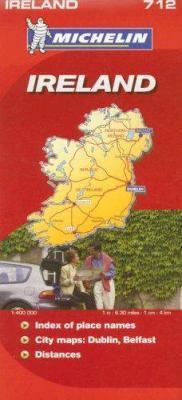 Michelin Ireland Map 9782067122963