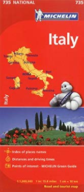 Michelin Italy Map 735 9782067171466