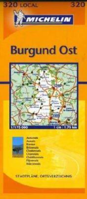 Michelin Local France Cote-D'Or/Saone-Et-Loire 9782061003817