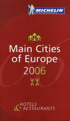 Michelin Main Cities of Europe 9782067115798