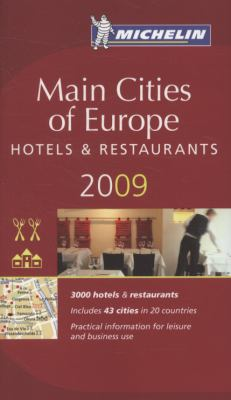 Michelin Main Cities of Europe 9782067138261