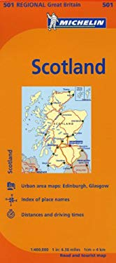 Michelin Map Great Britain: Scotland 501 9782067174993