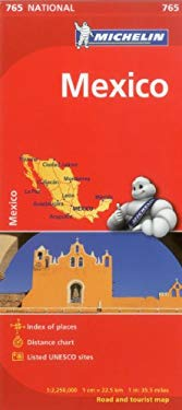 Michelin Map Mexico 765 9782067173552