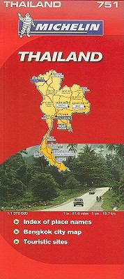 Michelin Map Thailand 9782067128316