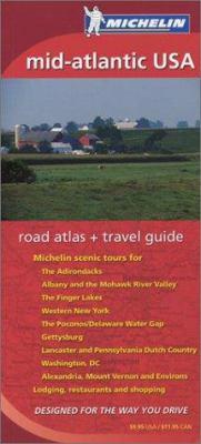 Michelin Mid-Atlantic USA Road Atlas & Travel Guide