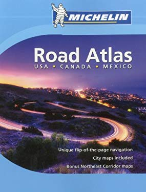 Michelin USA, Canada, Mexico Road Atlas 9782067175440