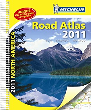 Michelin North America Road Atlas 2011 9782067150201