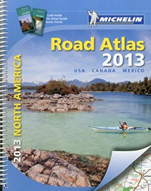 Michelin North America Road Atlas 9782067175426