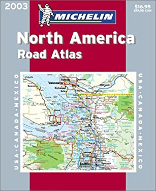 Michelin North America Road Atlas 9782061004425
