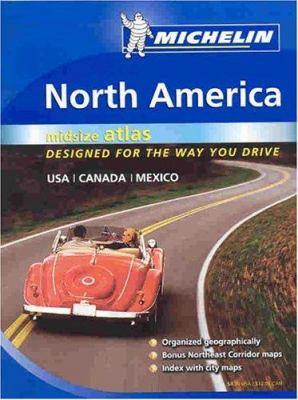 Michelin North America Road Atlas Medium Format