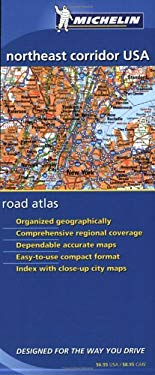 Michelin Northeast Corridor USA Road Atlas 9782067107151