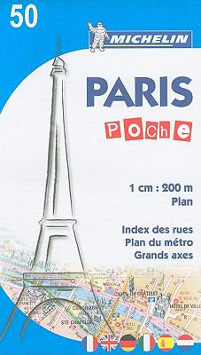 Michelin Paris Poche 50