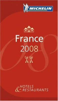 Michelin Red Guide France: Hotels & Restaurants 9782067130227
