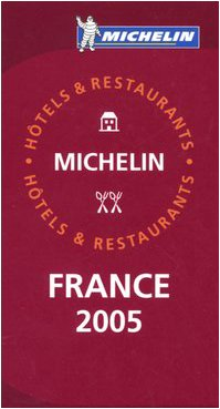 Michelin Red Guide France 9782067109377