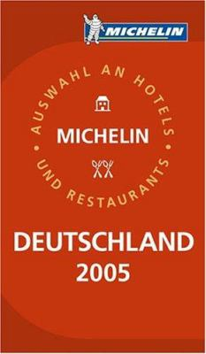 Michelin Red Guide Germany (Deutschland) 9782067109445
