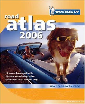 Michelin Road Atlas: USA/Canada/Mexico 9782067116436
