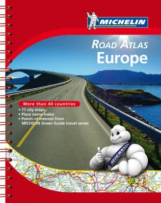 Michelin Road Atlas Europe 9782067173682
