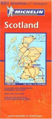Michelin Scotland 9782061007310