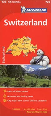Michelin Switzerland Map 729 9782067171640