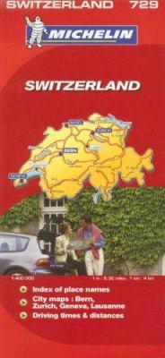 Michelin Switzerland Map 9782067123052