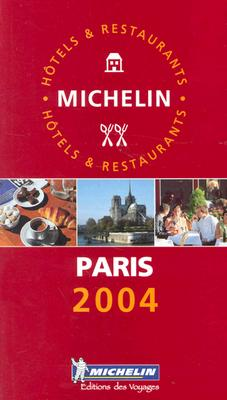 Michelin The Red Guide Paris & Environs 9782067102385
