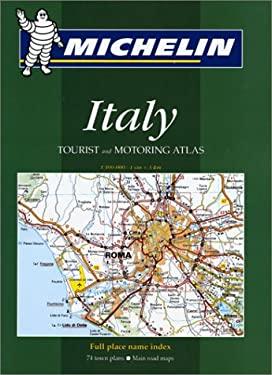 Michelin Tourist & Motoring Atlas Italy 9782061465066