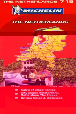 Michelin the Netherlands Map 9782067122994
