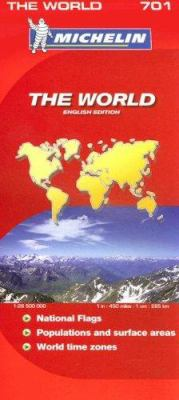 Michelin the World 701 9782067128392