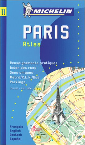 Paris Plan: Repertoire Des Rues, Renseignements Pratiques, Sens Uniques, Bus, Metro, R.E.R