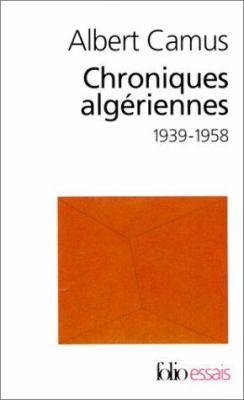 Chroniques Algeriennes 9782070422722