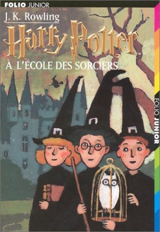 Harry Potter A L'Ecole Des Sorciers = Harry Potter Sorcerers Stone 9782070518425