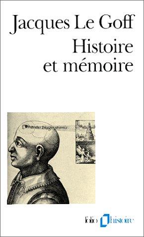 Histoire Et Memoire 9782070324040