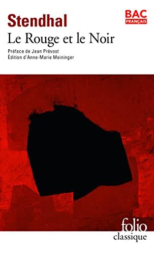 Rouge Et Le Noir Stendhal 9782070412396
