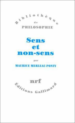 Sens Et Non-Sens 9782070743551