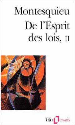 de L Esprit Des Lois 9782070328994