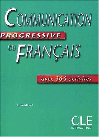 Communication Progressive Du Francais, Niveau Intermediaire 9782090337266