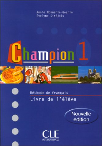 Champion Level 1 Textbook 9782090336719