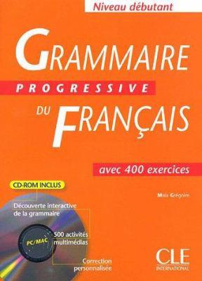 Grammaire Progressive Du Francais Textbook + CD-ROM (Beginner) 9782090339734